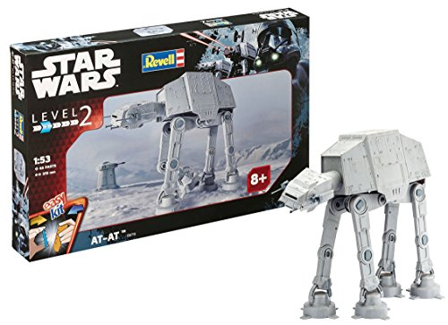Revell Maqueta Star Wars AT, Easy Kit Modelo, Escala 1:53 (6715)(06715), 37,5 cm de Largo (