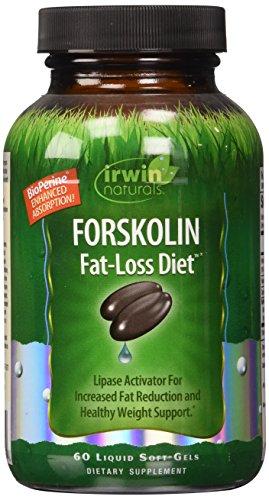 Irwin Naturals Forskolin Fat Loss Diet Supplement,