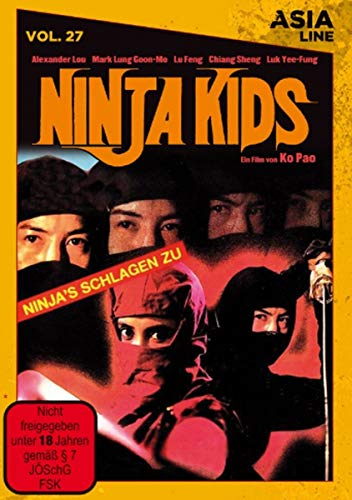 Asia Line Vol. 27 - Ninja Kids [Limited Edition]
