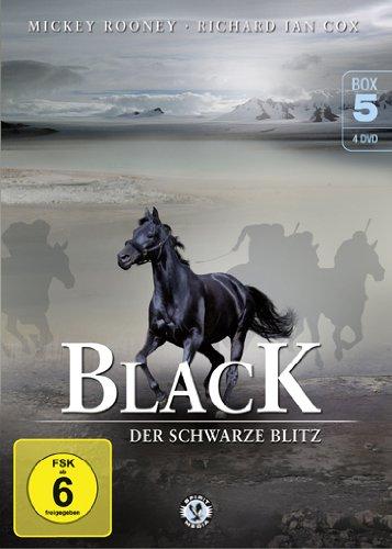 Black, der schwarze Blitz - Box 5 [4 DVDs]
