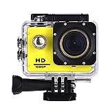 Lyhoon 1080P Videocamera sportiva HD 2,0 ', 30 m, impermeabile, schermo con l'acqua 120 gradi della...