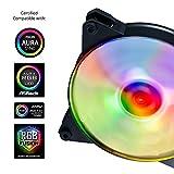 Cooler Master MasterFan Pro 120 Air Balance AB RGB Gehäuselüfter 'RGB LED, 650-1300 +/-10 RPM, 120mm' MFY-B2DN-13NPC-R1