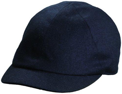 dorfman-pacific-mens-wool-blend-adjustable-2-1-2-inch-brim-ivy-cap-black
