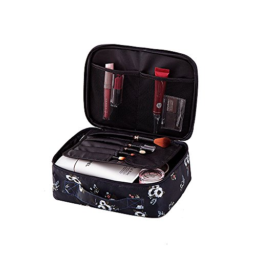 Women Cosmetic Bag Travel Makeup Case Pouch Toiletry Zip Wash Tote package -