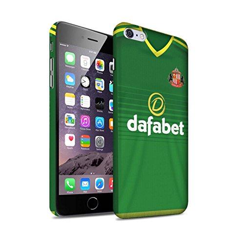 Officiel Sunderland AFC Coque / Clipser Matte Etui pour Apple iPhone 6+/Plus 5.5 / Pack 24pcs Design / SAFC Maillot Extérieur 15/16 Collection Footballeur