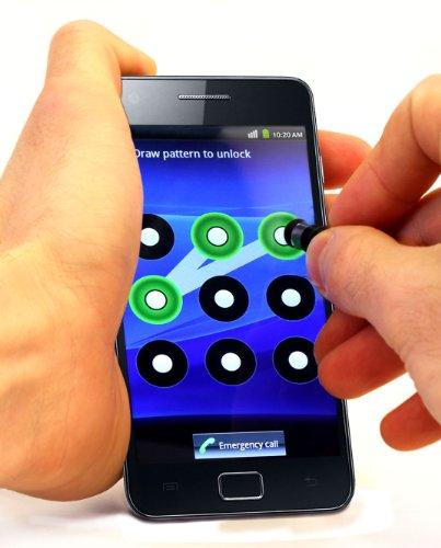 Foto DURAGADGET Pennino Stylus tascabile per telefoni touch screen: Samsung Galaxy S II, Nexus e Note e LG Optimus 3D