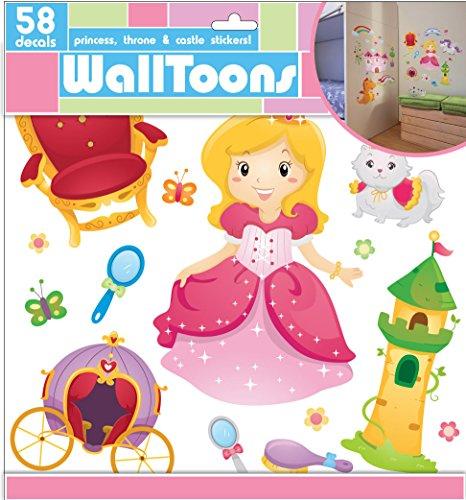 ädchen walltoons Wandtattoo Prinzessin princess (Disney Cinderella Kind Tiara)