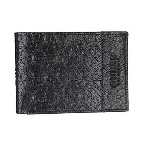 Guess portefeuille trenton sm1327 noir homme