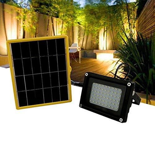 Projecteur solaire ; 54 LED extérieur solaire lampe de sécurité ; Route Projecteur Lampe pour pelouse, jardin, paysage, Hôtel, piscine, bassin, etc..