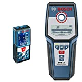 Bosch GLM 50 C Professional Laser Measure with Bosch GMS 120 Professional Detector