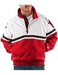 "Chicago Bulls NBA Starter ""Academy"" 1/2 Zip Pullover Embroidered Jacket Veste"