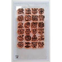 Stein malen // Klare Stempel Paket (10x18 cm) FLONZ