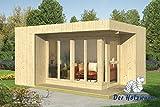 19 mm Gartenhaus Elin ca. 477x351 cm