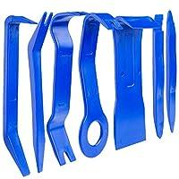 Czemo Car Trim Removal Tools Kit Auto Door Panel Remove Tool Kit for Removing Auto Panels Trim, 7PCS