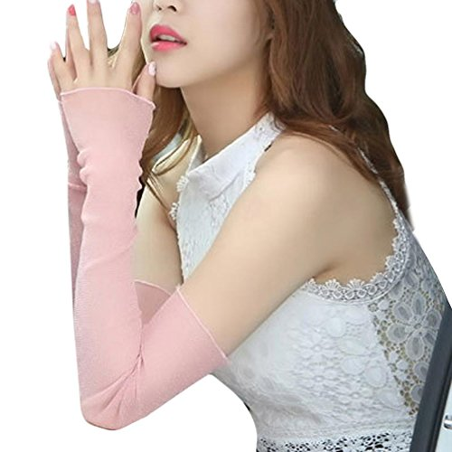 Manchettes de protection contre le soleil, Manchettes de protection pour bras de refroidissement BZLine Summer Arm (Pink)
