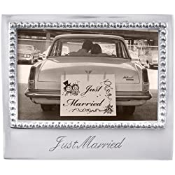 Mariposa Just Married Frame by MARIPOSA GIFTWARE & TABLEWARE