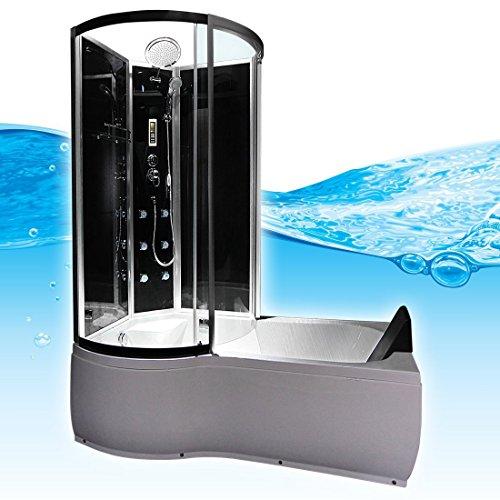 Preisvergleich Produktbild AcquaVapore DTP8050-A305R Wanne Duschtempel Badewanne Dusche Duschkabine 98x170, EasyClean Versiegelung der Scheiben:2K Scheiben Versiegelung +79.-EUR