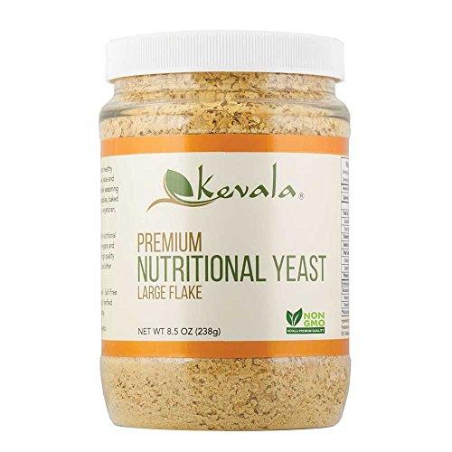 Kevala - Levadura nutricional Premium escama grande - 8.5 oz.
