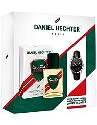 DANIEL HECHTER Coffret Homme Caractère Sport, Eau de Toilette 50 ml + Montre griffée DANIEL HECHTER