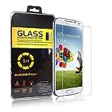 König-Shop Panzer Schutz Glas für Samsung Galaxy S4 Glasfolie Panzerfolie Schutzfolie - 9H Hartglas - 1 Stück