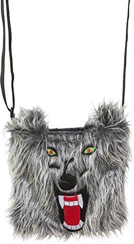 Orlob Kostüm Zubehör Handtasche Wolf zu Tierkostüm Karneval Fasching