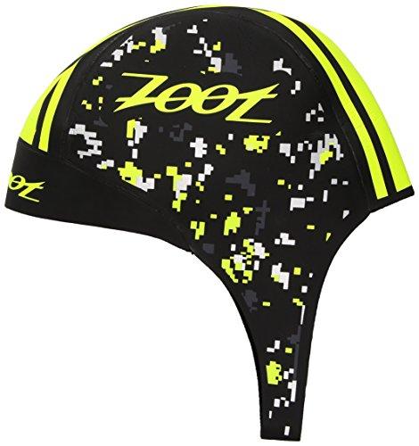 Zoot Sports Unisex Swim Cap fit Neopren, Unisex, gelb