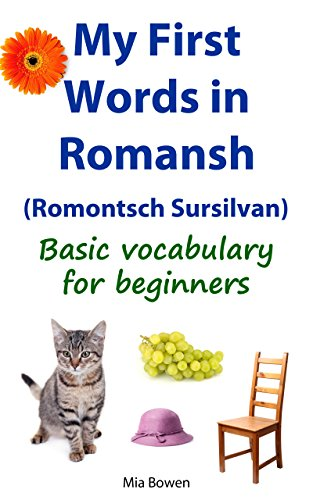 My First Words in Romansh (Romontsch Sursilvan): Basic Vocabulary for Beginners (Learn Romansh Book 2) (Romansh Edition)