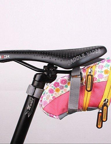ZXC/ Hüfttaschen / Fahrradlenkertasche Camping & Wandern / Radsport Für Alles Handy ( Wasserdicht / tragbar , Grün / Rosa , Nylon / TPU ) Pink