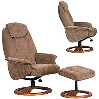 Global Furniture Alliance Oslo Chenille Fabric Recliner Chair and Footstool Mink  sc 1 st  Amazon UK & The Hong Kong - Chenille Fabric Swivel Recliner chair in Mink ... islam-shia.org