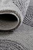 ESPRIT Yoga Moderner Markenteppich, Polyacryl, Silber, 120 x 70 x 2 cm