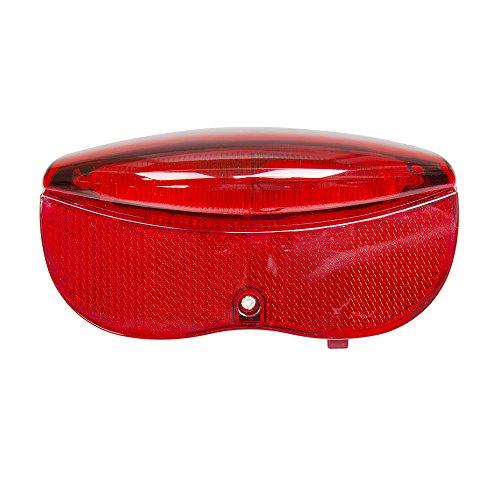 BV Super Hell 3rot LED, Rücklicht hinten Rack/Carrier Licht, einfach zu installieren, integrierten Reflektor (Planet Rücklicht Bike)