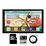 Panlelo Android Autoradio Quad Core 1 G + 16 G + 32 G SD Card GPS 2 Din 7 Pouces Full HD Écran Tactile de Tableau de Bord Système vidéo Bluetooth WiFi Caméra de recul AM/FM/RDS Radio
