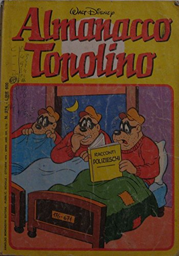 Almanacco Topolino n°274 del ottobre 1979