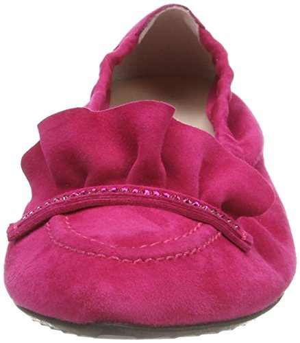 Manufactura De Zapatos Kennel And Schmenger Pia, Bailarinas Punta Chiusa Donna Pink (azalea)