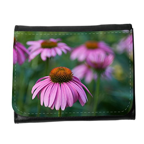 Cartera unisex // M00293208 Echinacea Fiore Herbal Garden // Small Size Wallet