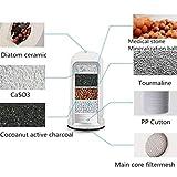 Rimozione del batterio JDH99 dei batteri del filtro da acqua del percolatore lavabile ceramico del rubinetto della cucina del depuratore di acqua filtro rubinetto acqua (Color : Replacement Fliter)