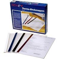 Genie 10258 - Cartelline termiche, DIN A4, in 4 diversi colori e larghezze, 50 pz. -  Confronta prezzi e modelli