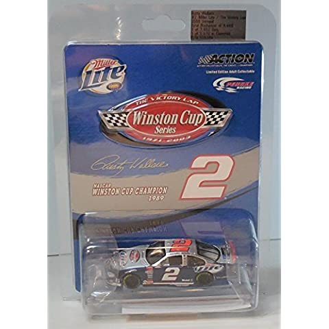 2003 Rusty Wallace #2 Dodge Miller Lite Victory Lap Winston Cup Champion Logo Special Edition 1/64th Scale Action Racing Collectables ARC Limited Edition by NASCAR