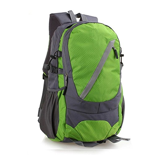 Reise-Outdoor-Enthusiasten Outdoor Wandern Tasche Rucksack Wanderrucksack (30L), grün green
