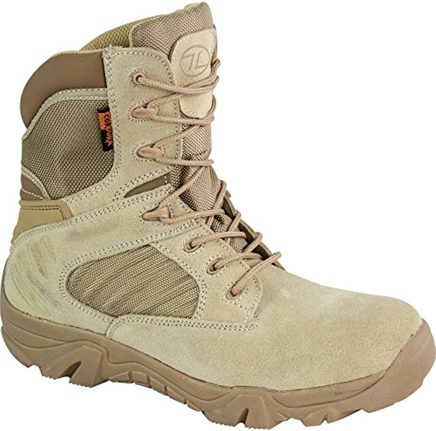 Highlander Mens Echo Cordura & Leather Reinforced Combat Boots