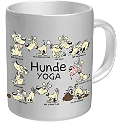 Taza: Perros Yoga