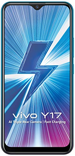 Vivo Y17 (Mineral Blue, 4GB RAM, 128GB Storage) with Offer