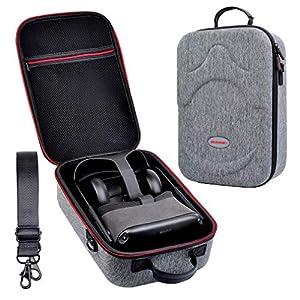 Tragetasche für Oculus Quest, Hart Portable Wasserdicht Stoßfest Schutzhülle Hülle Premium Travel Bag Cover