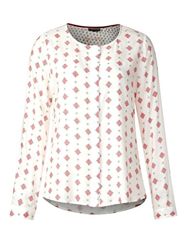 Street One, Blouse Femme Weiß (Off White 30108)