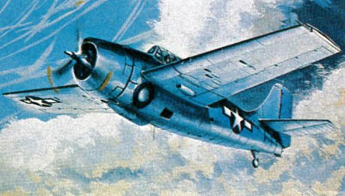 Revell Micro Flügel f4 F-4 Wildcat Aircraft Plastic Model Kit (144 Revell Kits 1 Model)