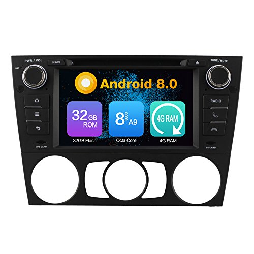 KUNFINE® Octa Core 4 GB Ram Android 8,0 Auto DVD GPS Navegación...