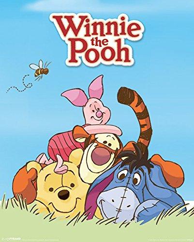 Winnie Puuh der Bär - Pooh- Characters Filmposter Zeichentrick Disney - Grösse 40x50cm