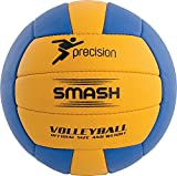 Precision Training Smash Flexibel Polyurethane Volleyball - Gelb & Blau