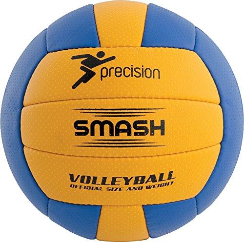 Precision Training Smash Flexibel Polyurethane Volleyball - Gelb & Blau