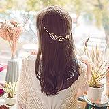 Yean cabeza cadena nupcial hojas para las mujeres y las niñas